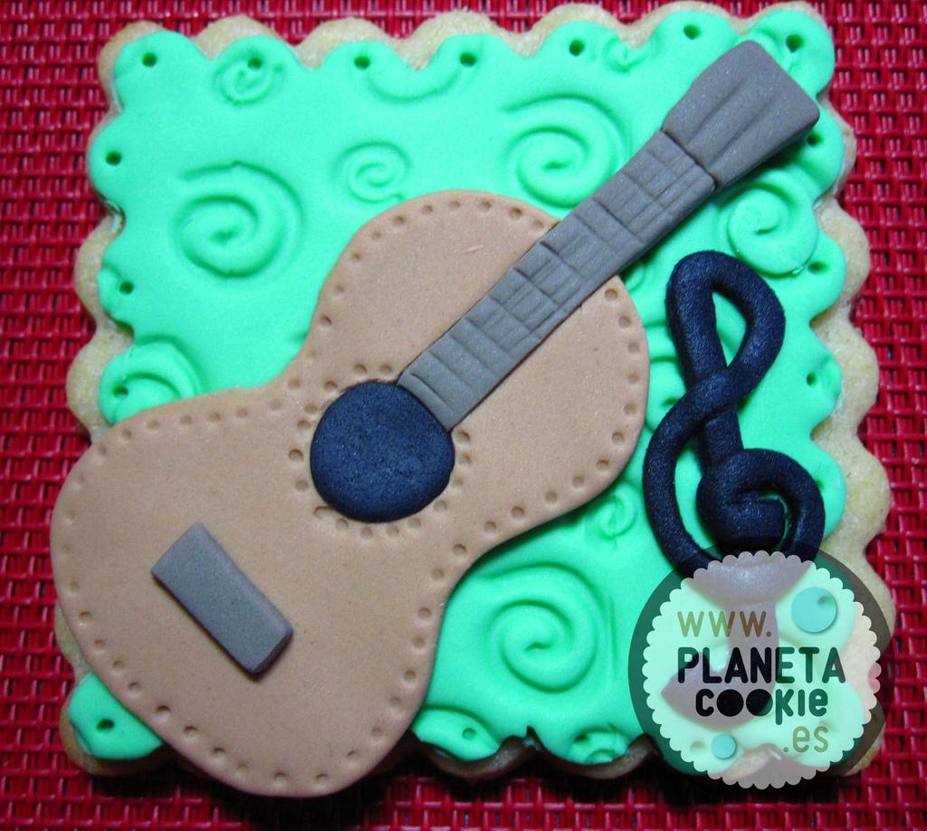 guitarra - clave de Sol