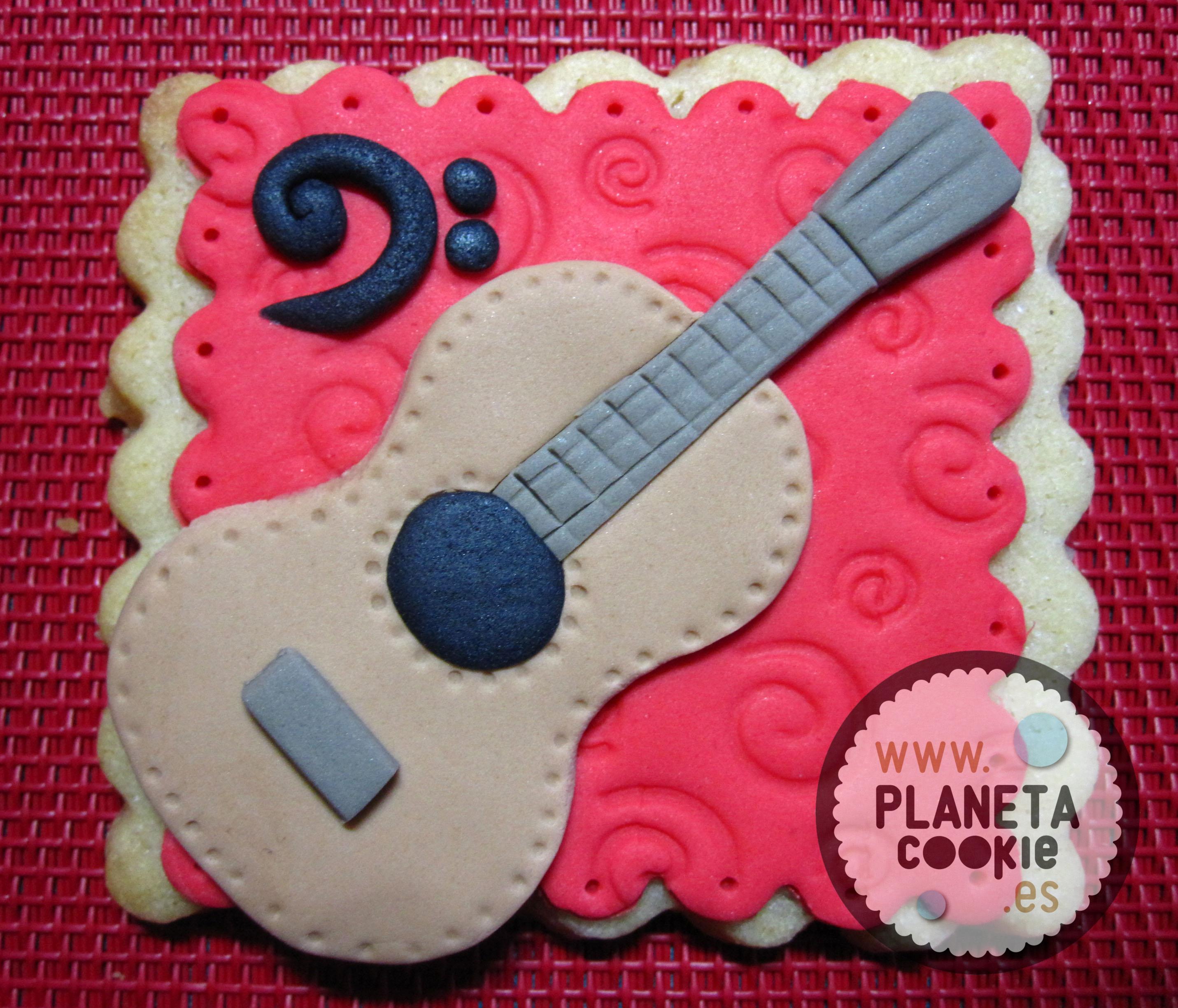 guitarra - clave de Fa