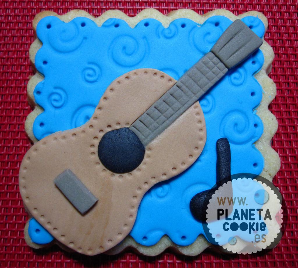 Guitarra - Negra