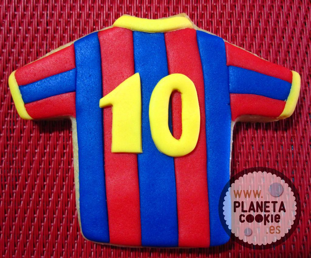 Galletas Culés Fútbol Club Barcelona Planeta Cookie