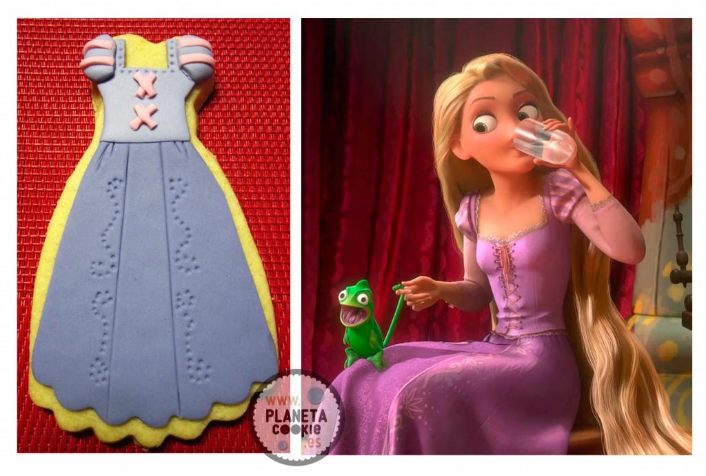 Dibujos Para Colorear Rapunzel: Planeta Cookie
