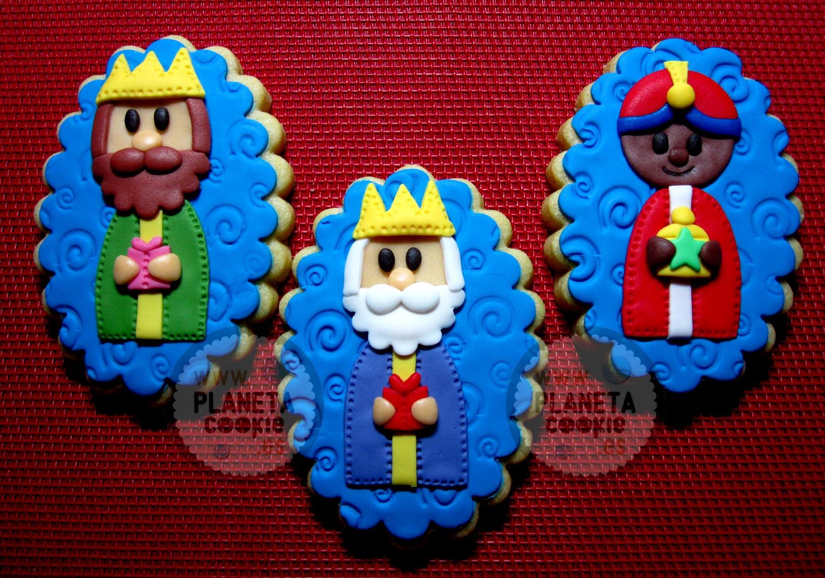 Reyes Magos De Oriente Planeta Cookie