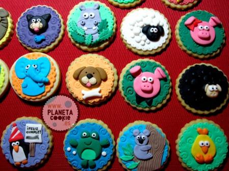 Diseños de galletas de Animalitos
