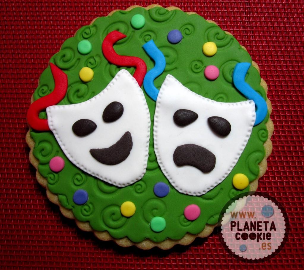 Máscaras de Teatro en Carnaval