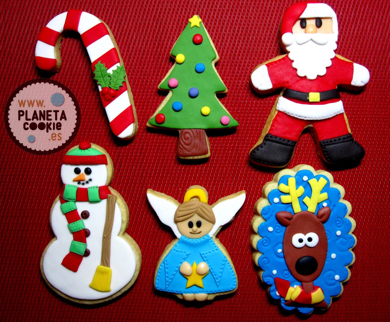 Imagenes De Galletas De Navidad Decoradas.Cursos De Galletas Decoradas Con Fondant Planeta Cookie