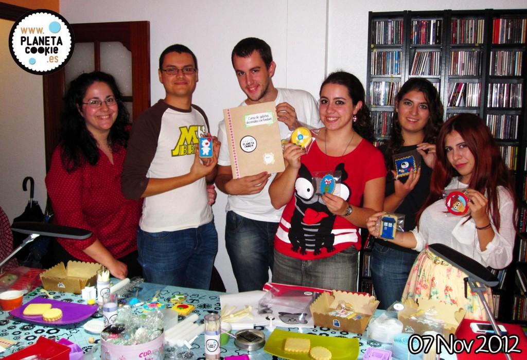 Fotito de grupo día 7 de noviembre 2012