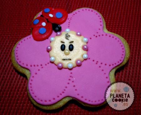 Flor-bebé cabreada