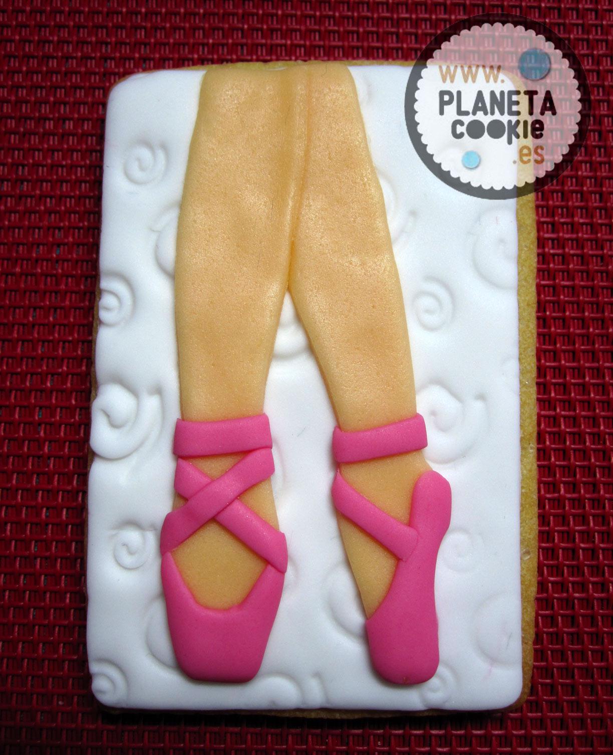 Bailarina De Ballet Planeta Cookie