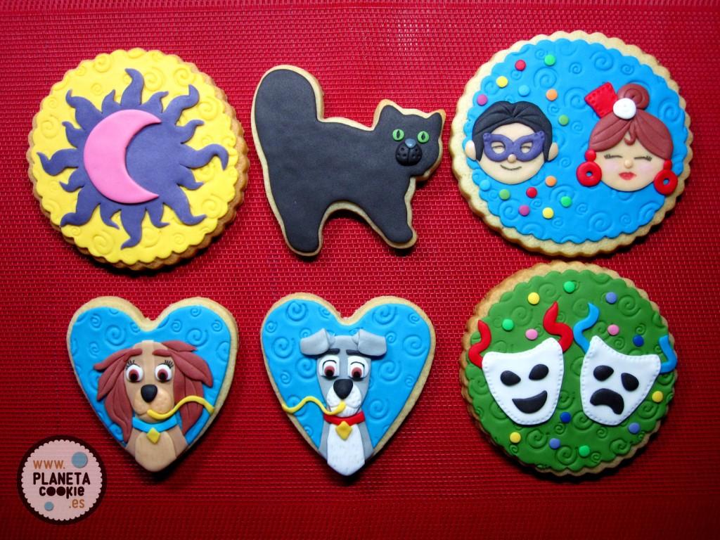 Conjunto de galletas