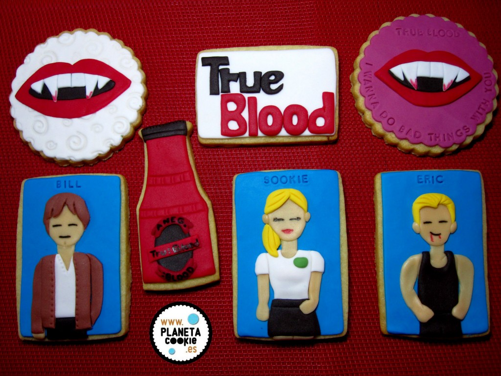 Lote galletas True Blood