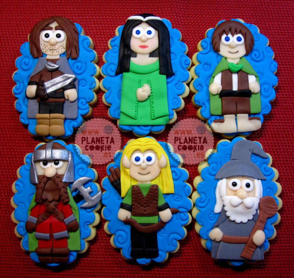 Galletas del Señor de los Anillos | Planeta Cookie