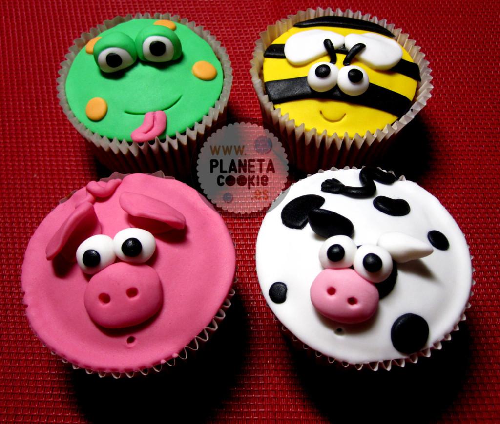 Cupcakes Minion, animalitos y más… | Planeta Cookie
