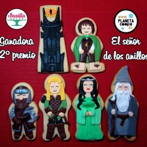 galletas el señor de los anillos sevilla dulce 2º premio
