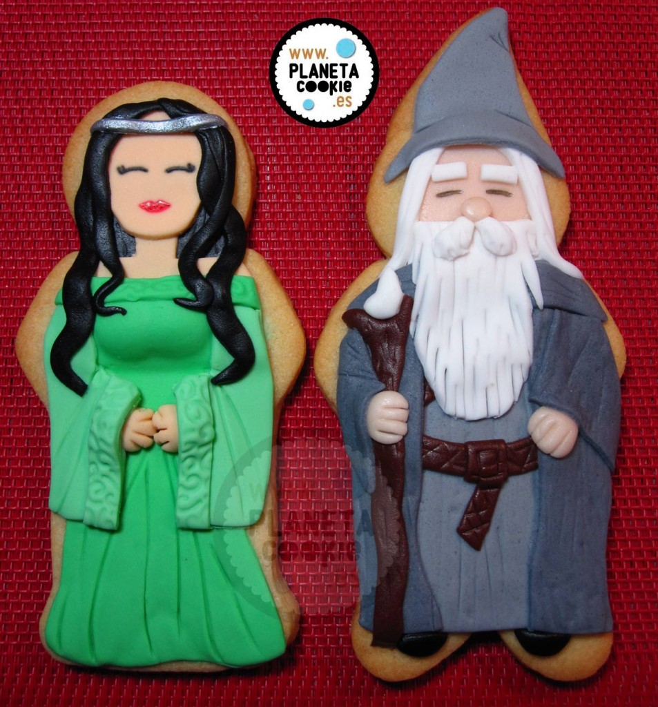 Arwen y Gandalf