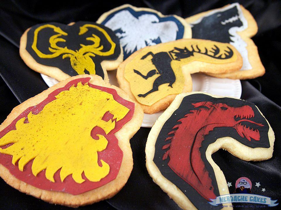 Juego de Tronos - Nerdache Cakes