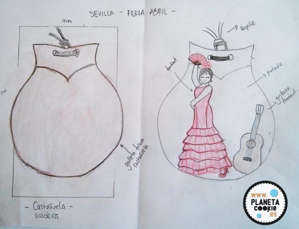 boceto-flamenca