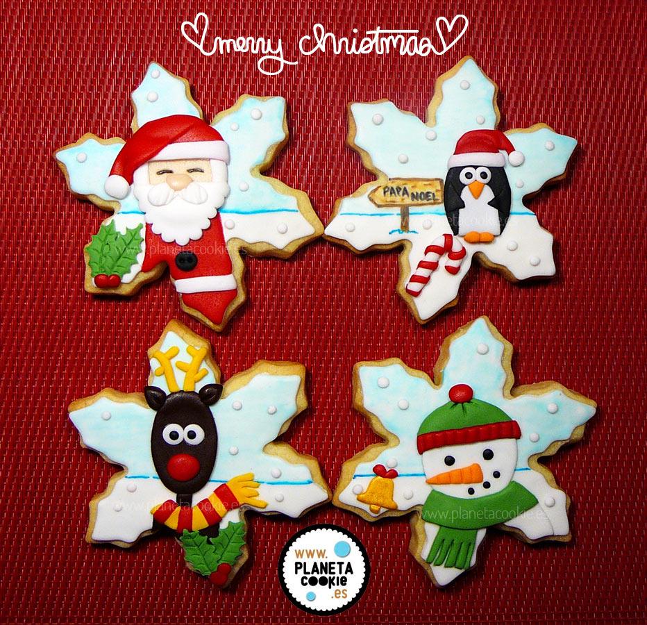 Copos de nieve – Navidad 2014 | Planeta Cookie