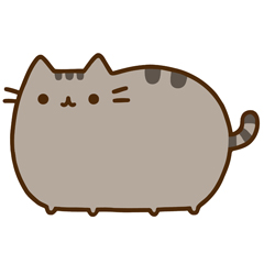 Pusheen El Gato Planeta Cookie