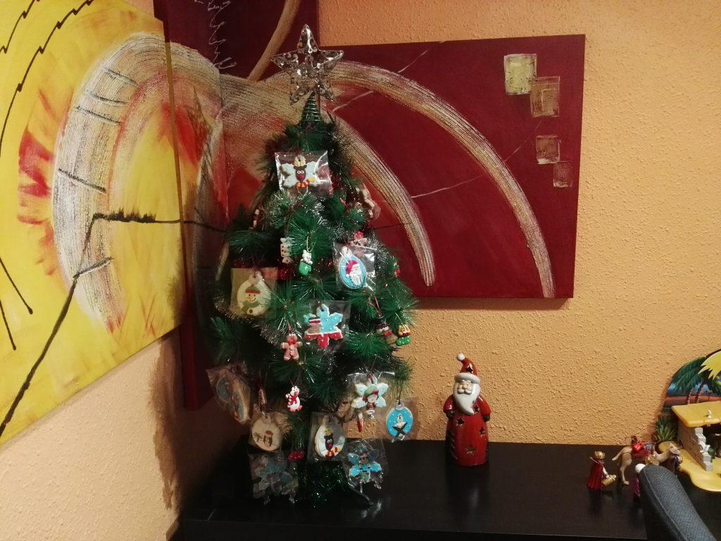 árbol navideño isa
