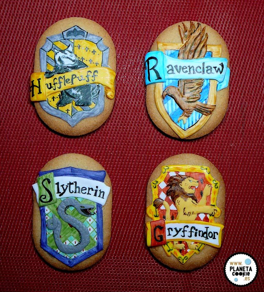 Galletas Harry Potter y Casas de Hogwarts | Planeta Cookie