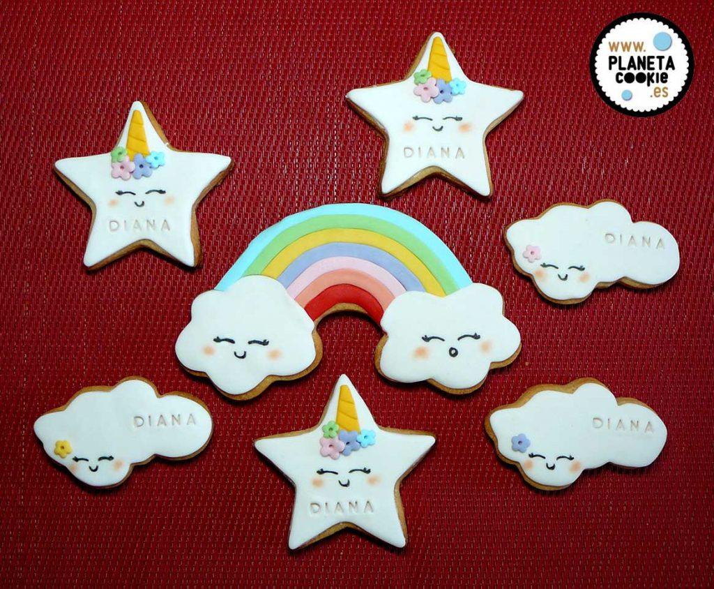 Unicornios Planeta Cookie