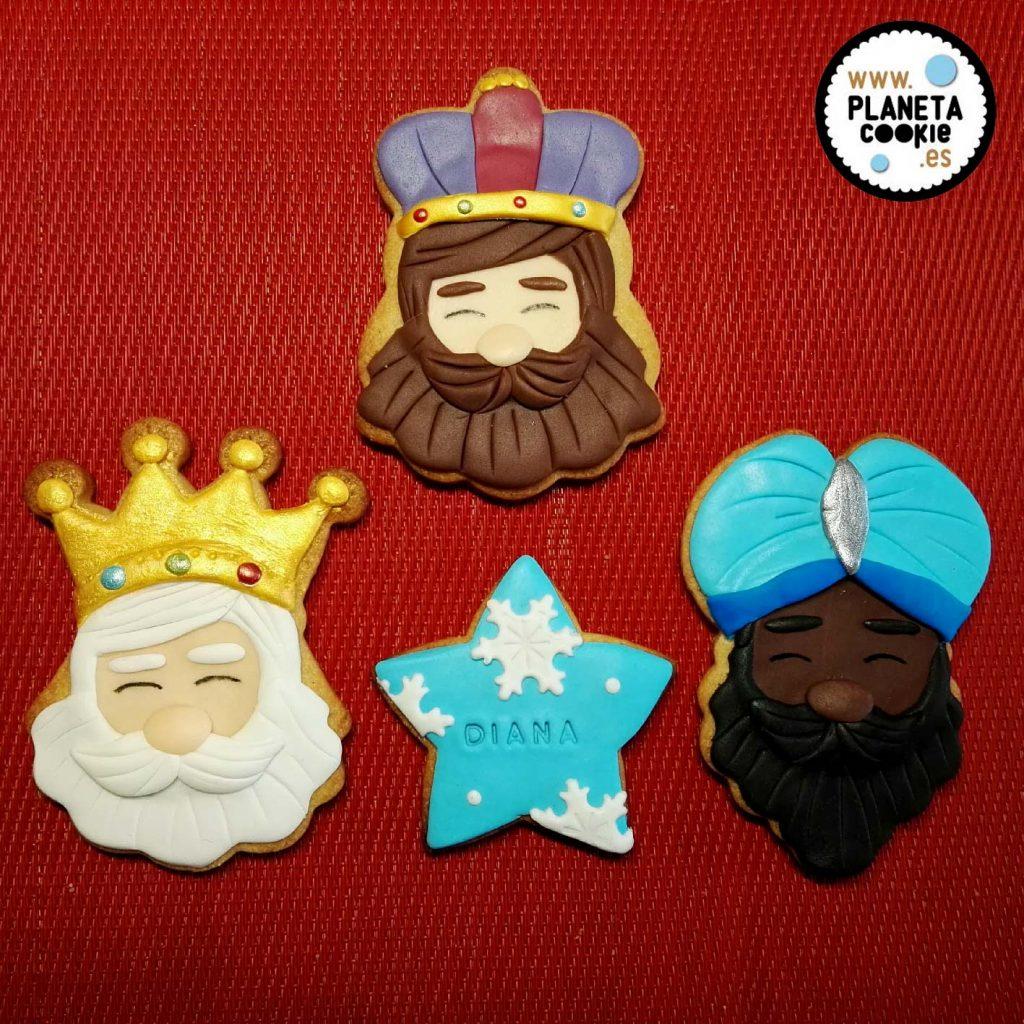 Reyes Magos Planeta Cookie