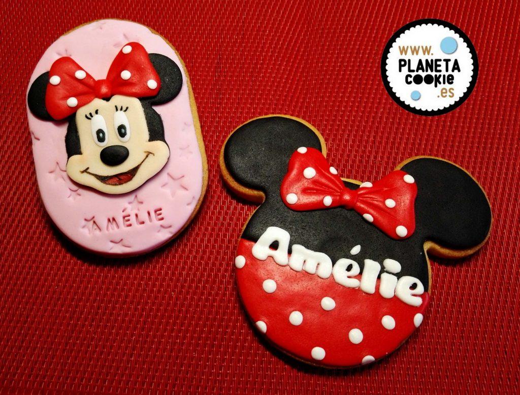 Cumpleaños Minnie Planeta Cookie