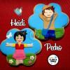 Heidi y Pedro