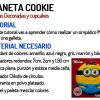 Galleta Minion - Video tutorial Planeta Cookie