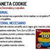Galleta Minion - Video tutorial Planeta Cookie