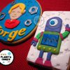 Galletas de robots (para una tarta)