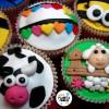 Cupcakes primaverales y mi cabeza a tope de ideas (lista de correo y cursos a distancia)