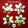 Copos de nieve - Navidad 2014