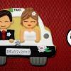 Gracias chófer, testigos, amigos!... por una boda perfecta.