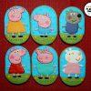 La familia y amigos de Peppa Pig